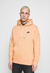 Nike Sportswear - HOODIE - Hoodie - apricot agate/smoke grey - 0