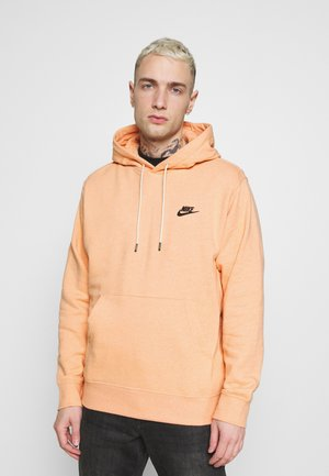 HOODIE - Sweat à capuche - apricot agate/smoke grey