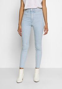Levi's® - MILE HIGH ANK  - Jeans Skinny Fit - light blue denim - 0