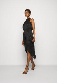 Pinko - AMABILE ABITO HABUTAI RICAMATO - Cocktail dress / Party dress - black - 1