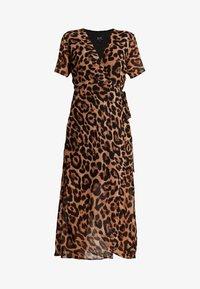 Bardot - LEOPARD WRAP DRESS - Maxi dress - multi-coloured - 5