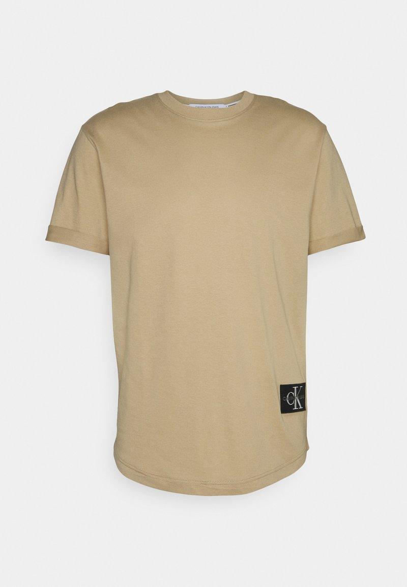 Calvin Klein Jeans - BADGE TURN UP SLEEVE - T-shirt basic - grey