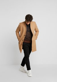 TOM TAILOR DENIM - Classic coat - hay beige/brown - 1