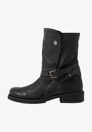 COOPER - Cowboy-/Bikerlaarzen - black
