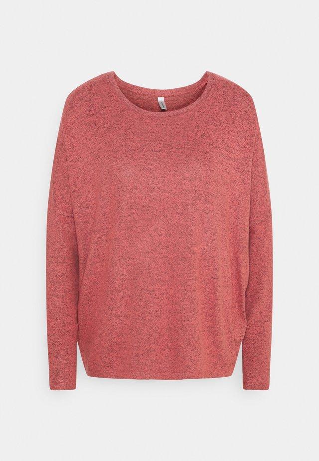 BIARA - Stickad tröja - sierra melange