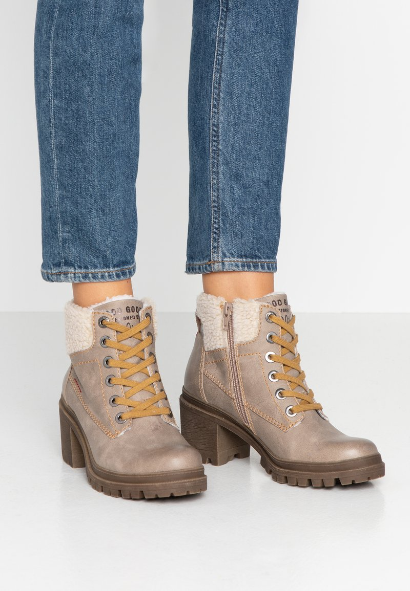 s.Oliver - Ankelboots - taupe