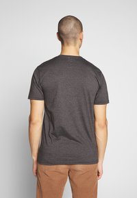 Volcom - CIRCLE BLANKS HTH SS - Basic T-shirt - anthracite - 2