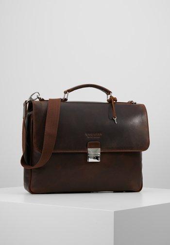 BRIEFBAG SMALL - Briefcase - brown