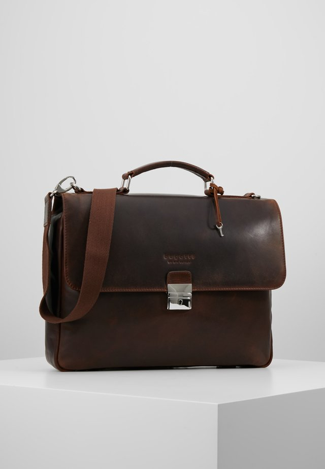 BRIEFBAG SMALL - Salkku - brown