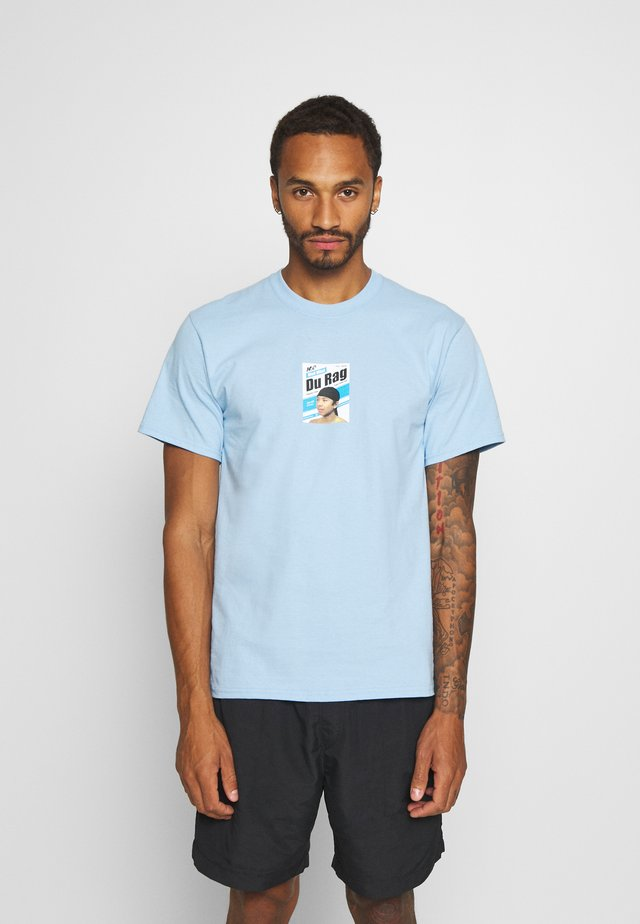 DU RAG  - T-shirt imprimé - light blue