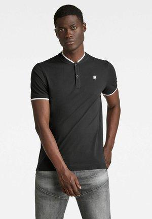 SPORT COLLAR SLIM - T-shirt print - dk black