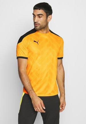 GRAPHIC  - Print T-shirt - ultra yellow/black
