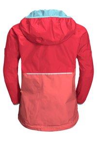 Jack Wolfskin - Waterproof jacket - tulip red - 2