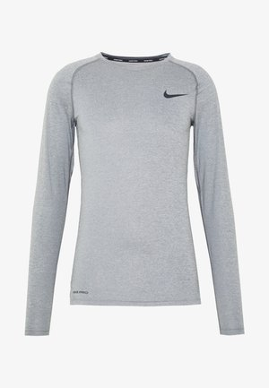 TIGHT - Sports shirt - smoke grey/light smoke grey/black