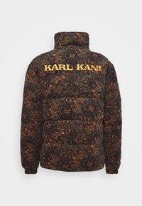 Karl Kani - UNISEX OG  PUFFER JACKET - Winter jacket - black - 1