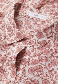 Mango - IMPRIMÉE  - Robe chemise - blanc cassé - 5