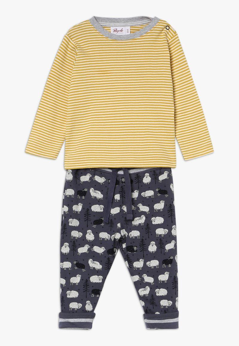People Wear Organic - SET BABY - Kalhoty - senfgelb