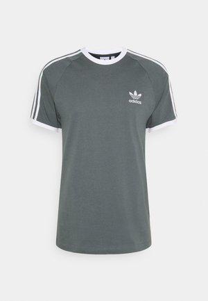 3 STRIPES TEE UNISEX - Print T-shirt - blue oxide