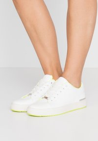 DKNY - BINDA LACE UP - Trainers - white - 0