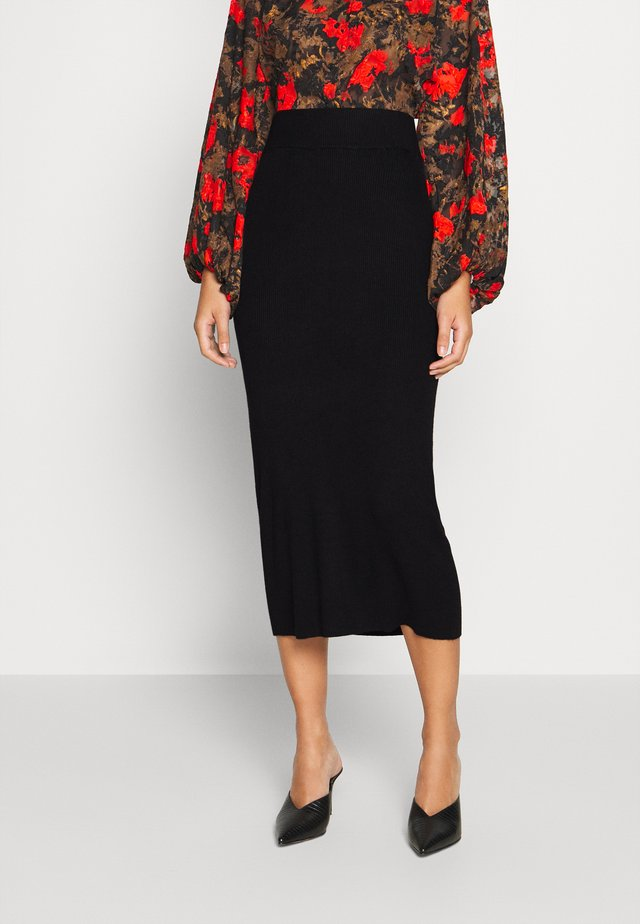LULU ASTRID SKIRT - Pencil skirt - black