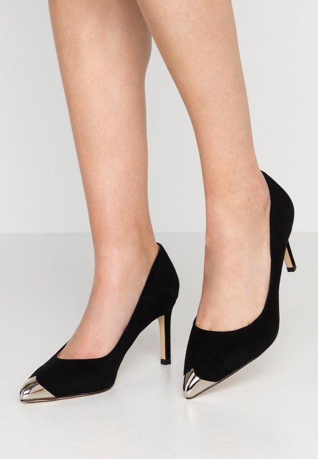 CORA METAL TOE - Classic heels - black