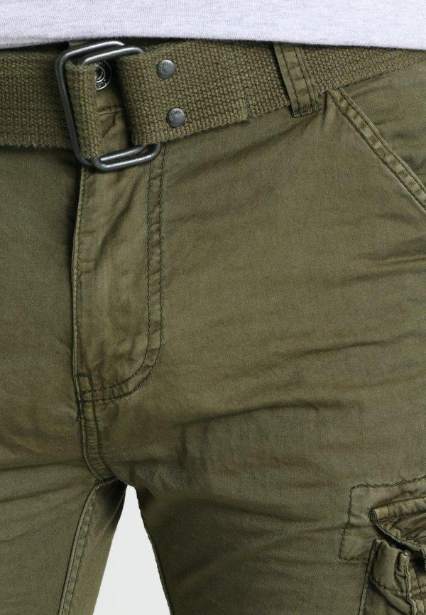 Schott TRRANGER - BojÓwki - olive/oliwkowy Odzież Męska OBKM