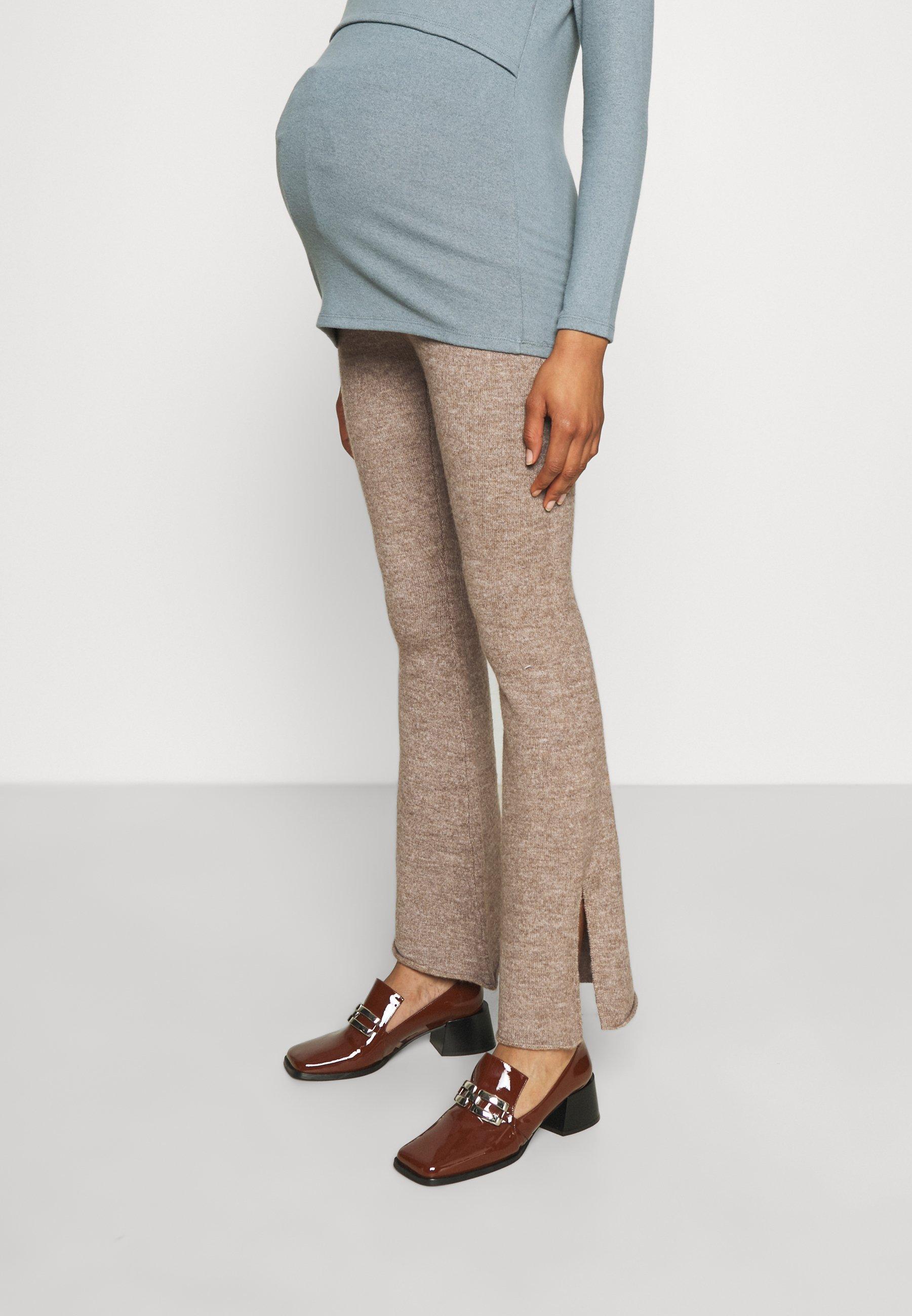 Femme FRIENDLY SPLIT SIDE MATCH BACK PANT - Pantalon classique