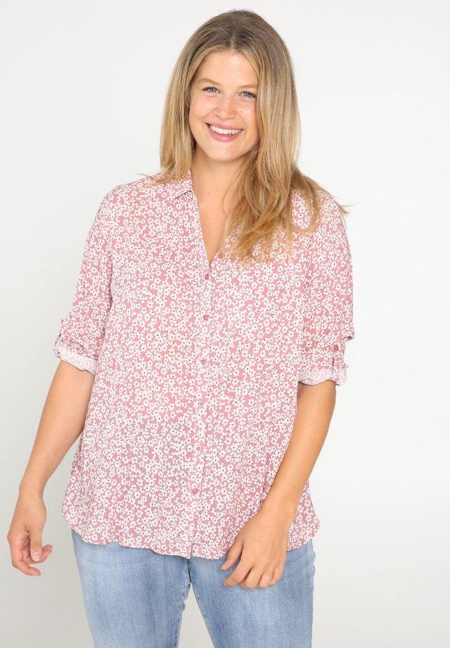 MIT BLUMEN-PRINT - Skjorta - pink