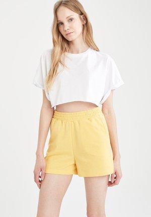 2 PACK - Shorts - yellow