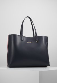 Tommy Hilfiger - ICONIC TOTE SET - Shopping bags - blue - 5