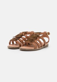 Friboo - LEATHER - Sandals - brown - 1