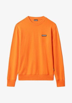 B-PATCH CREW - Sweatshirt - orangeade