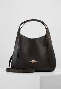 Coach - POLISHED PEBBLE HADLEY HOBO - Handbag - black - 0