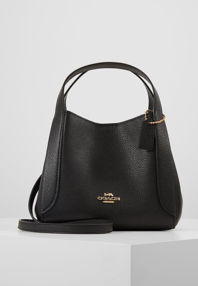 POLISHED PEBBLE HADLEY HOBO - Handbag - black