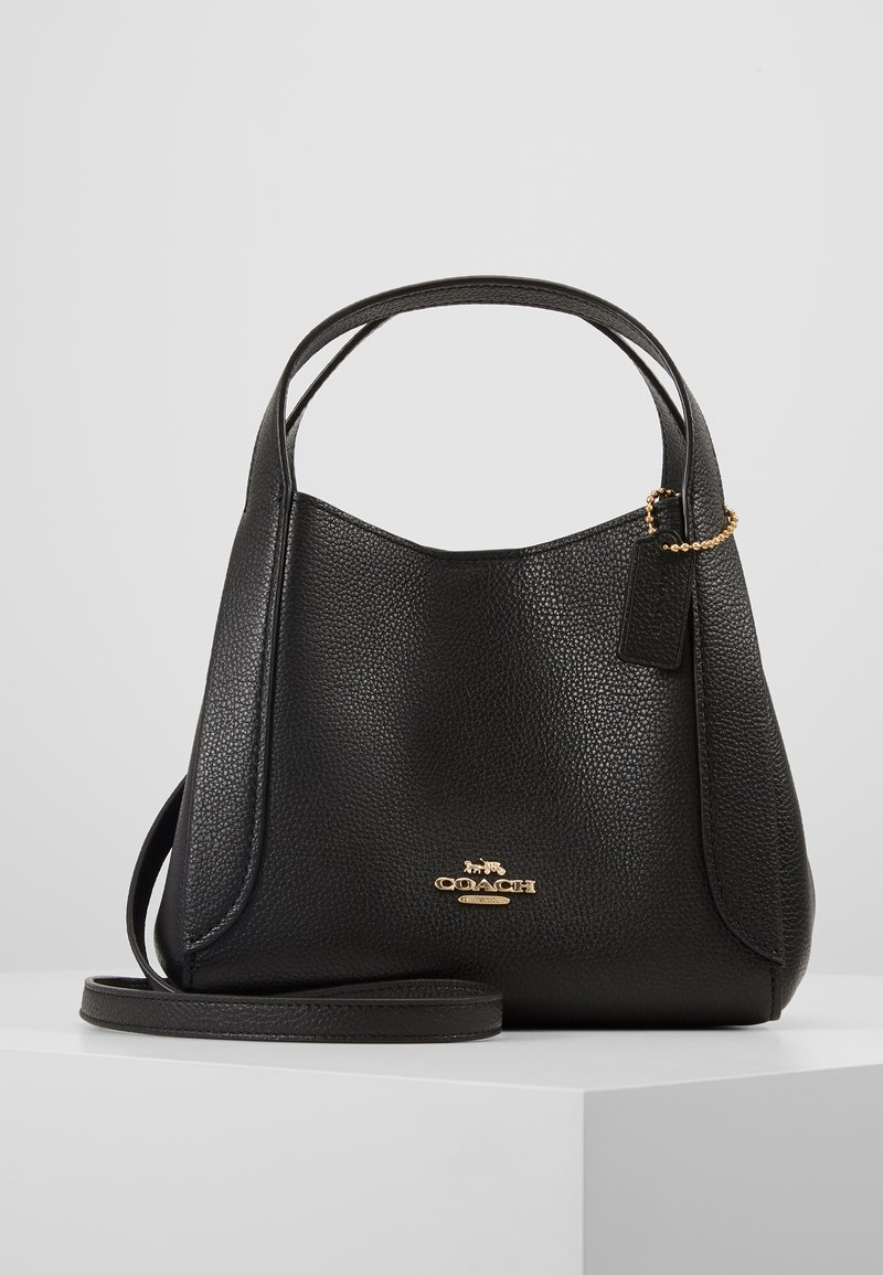 Coach - POLISHED PEBBLE HADLEY HOBO - Handbag - black