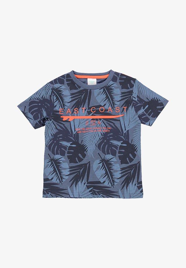 T-shirt imprimé - checks