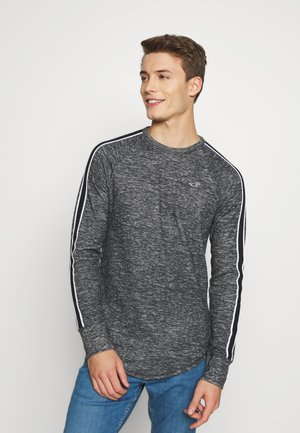 WAFFLE TEXTURE - Sweter - black