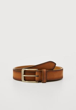 LEATHER - Cintura - tan