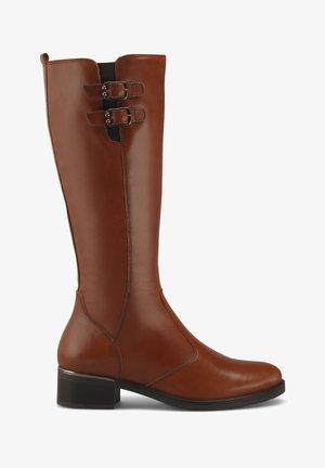 Boots - mittelbraun