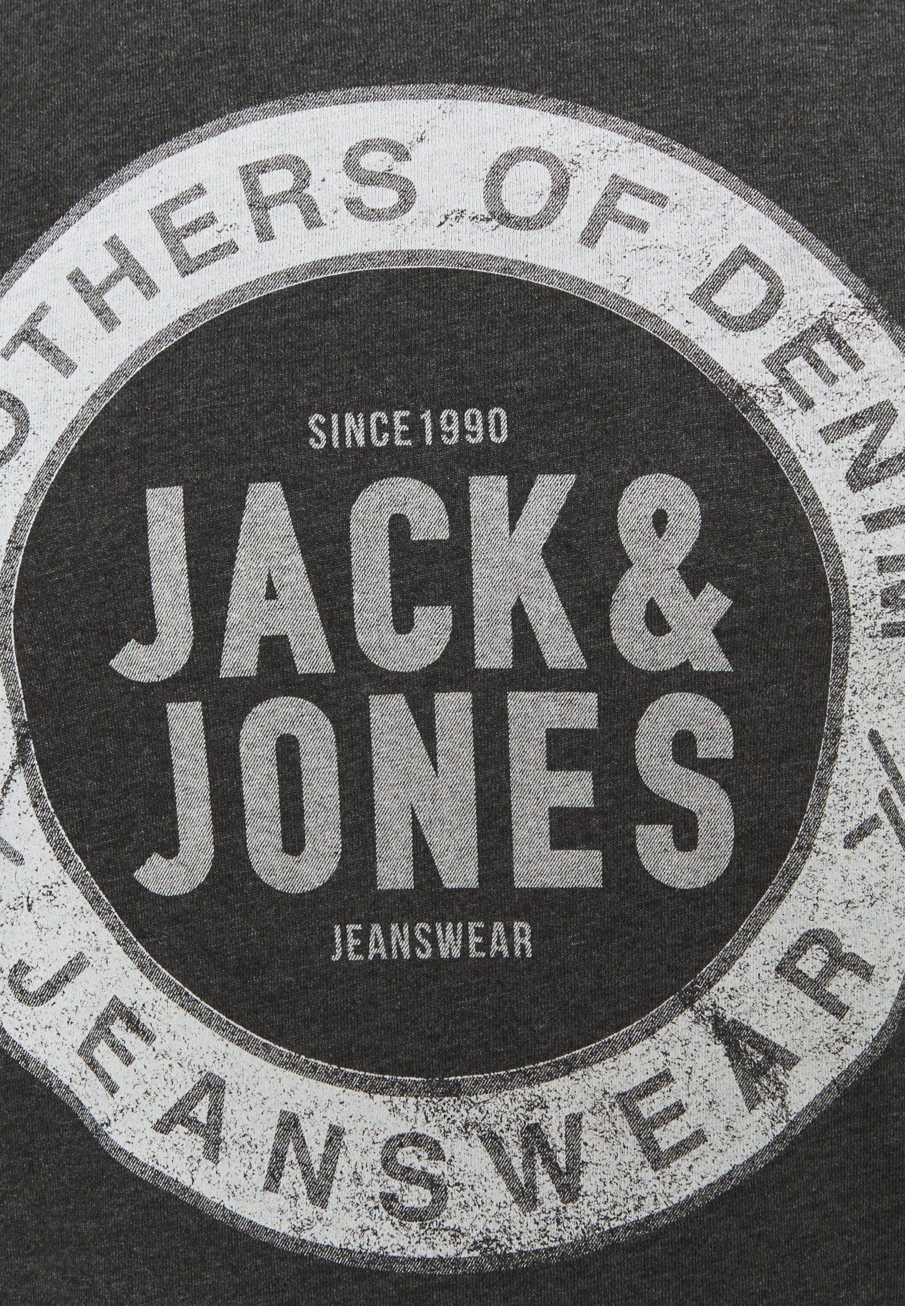 Homme JJEJEANS TEE O NECK - T-shirt imprimé