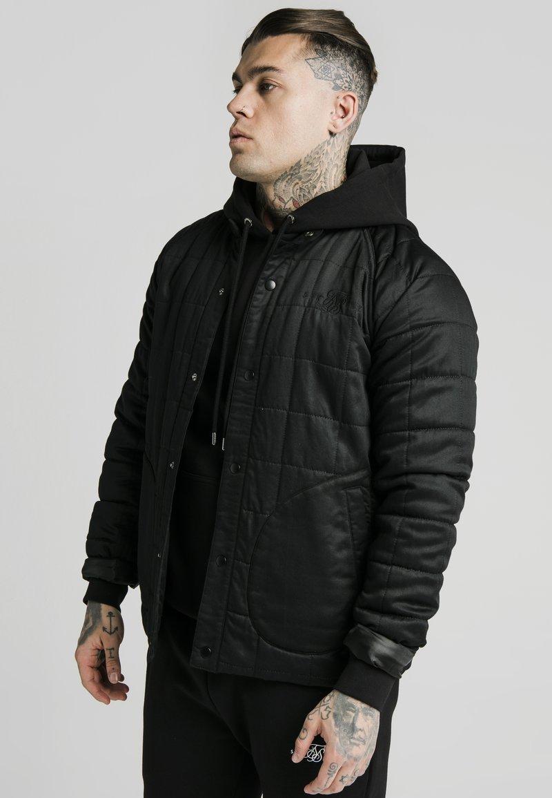 SIKSILK - FARMERS JACKET - Light jacket - black