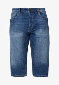 Q/S designed by - Denim shorts - stone blue denim - 3