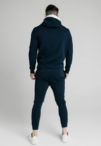 SIKSILK - SIKSILK TEXTURED TAPE OVERHEAD HOODIE - Felpa - navy - 2