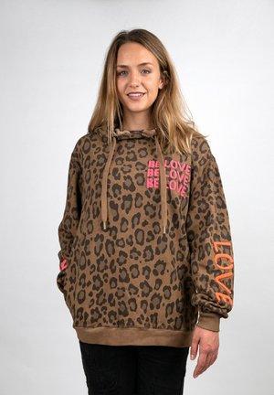 LEO - Sweatshirt - brown