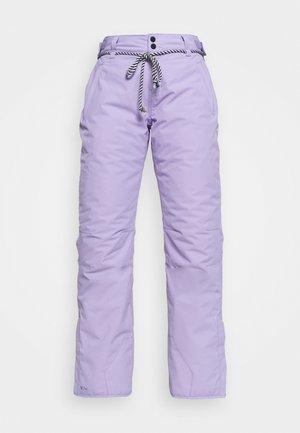 SUNLEAF WOMEN SNOWPANTS - Ski- & snowboardbukser - lavender