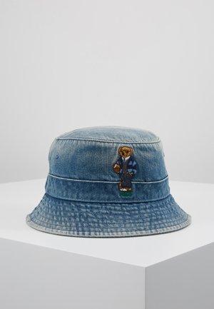 BUCKET HAT BEAR - Hat - light blue