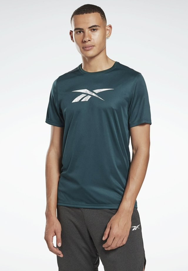 WORKOUT READY GRAPHIC T-SHIRT - Print T-shirt - green