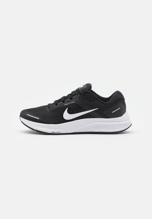 AIR ZOOM STRUCTURE 23 - Zapatillas de running estables - black/white/anthracite