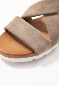 Anna Field - LEATHER  - Platform sandals - beige - 2