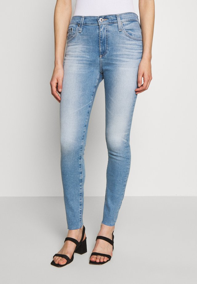 FARRAH ANKLE - Jeans Skinny - blue denim